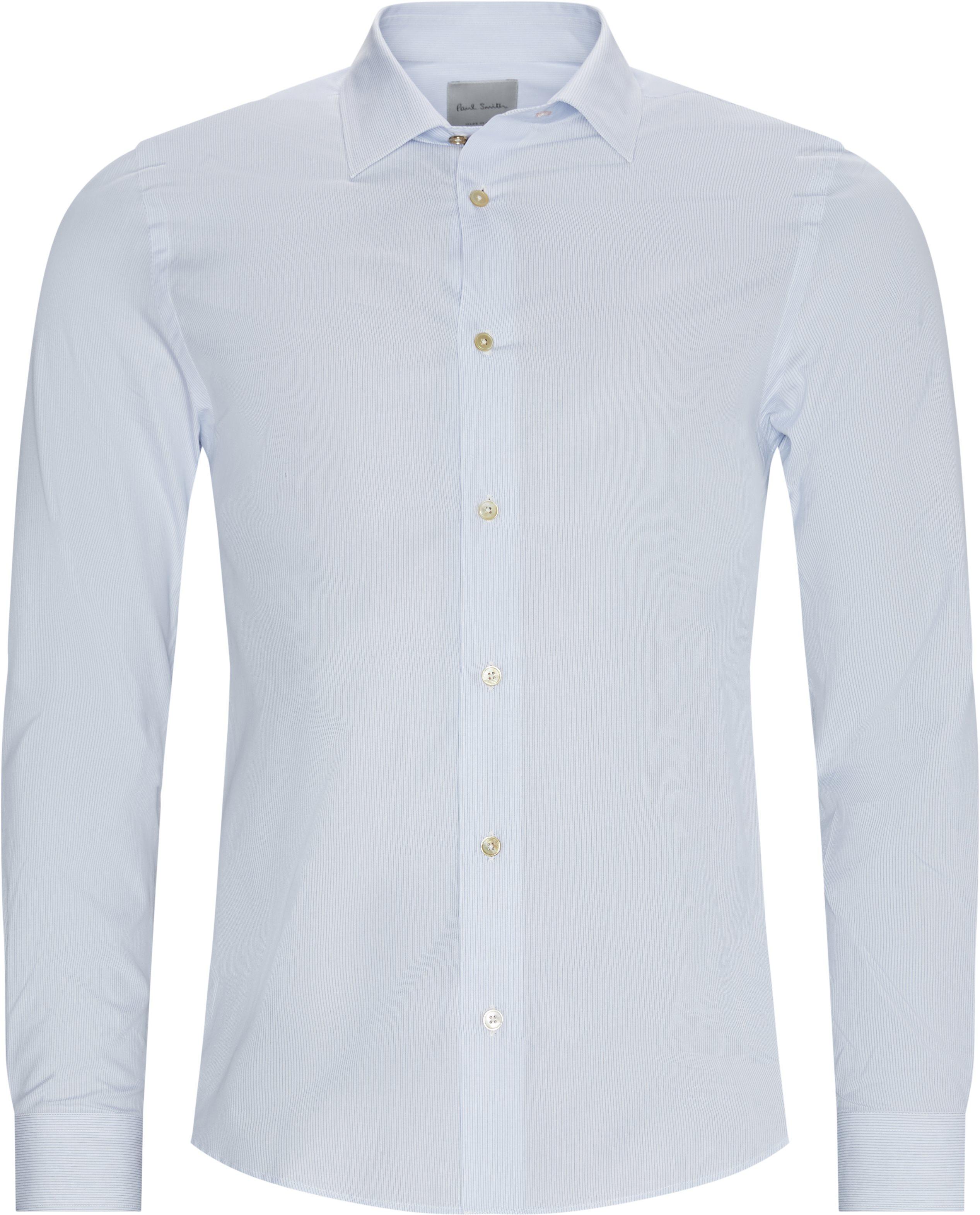 Skjorter - Regular fit - Blå